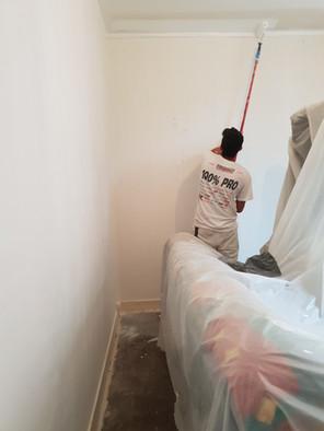 Protection et mise en peinture