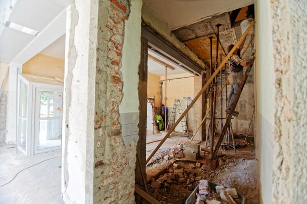 Lamorlaye; en cours réhabilitation lourde maison