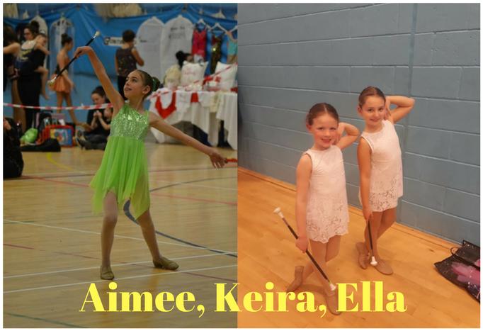 Aimee, Keira and Ella