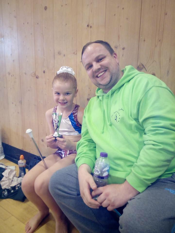 Savanah with our Club leader Lee 17