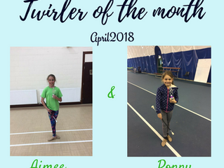 Twirler of the Month - April 2018