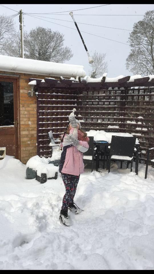 Ella Snow Twirl 2 Baton