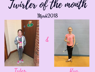 Twirler of the Month - March 2018