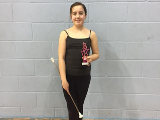 Twirler of the Month - February 2018