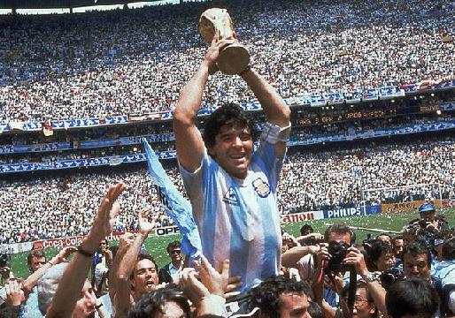 Сборная Аргентины чемпион мира 1986 года
