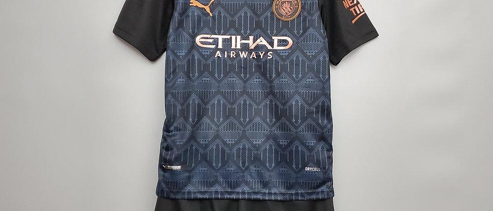 Футбольная форма Манчестер Сити 2020-2021 выездная