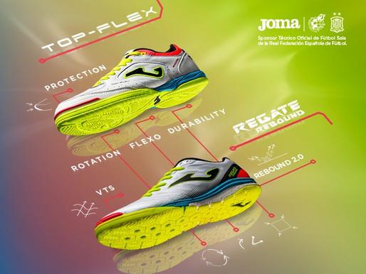 JOMA Sport и RFEF выпускают новую уникальную обувь.