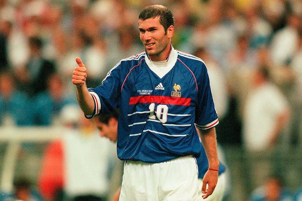Домашняя форма сборной Франции 1998