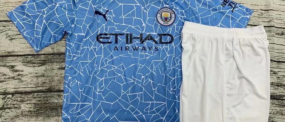 Футбольная форма Манчестер Сити 2020-2021 домашняя
