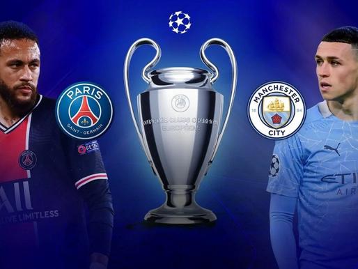 Манчестер Сити в первом матче побеждает ПСЖ