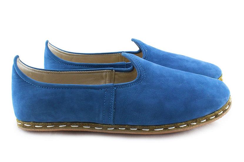 elvis presley handmade leather shoes for men side view