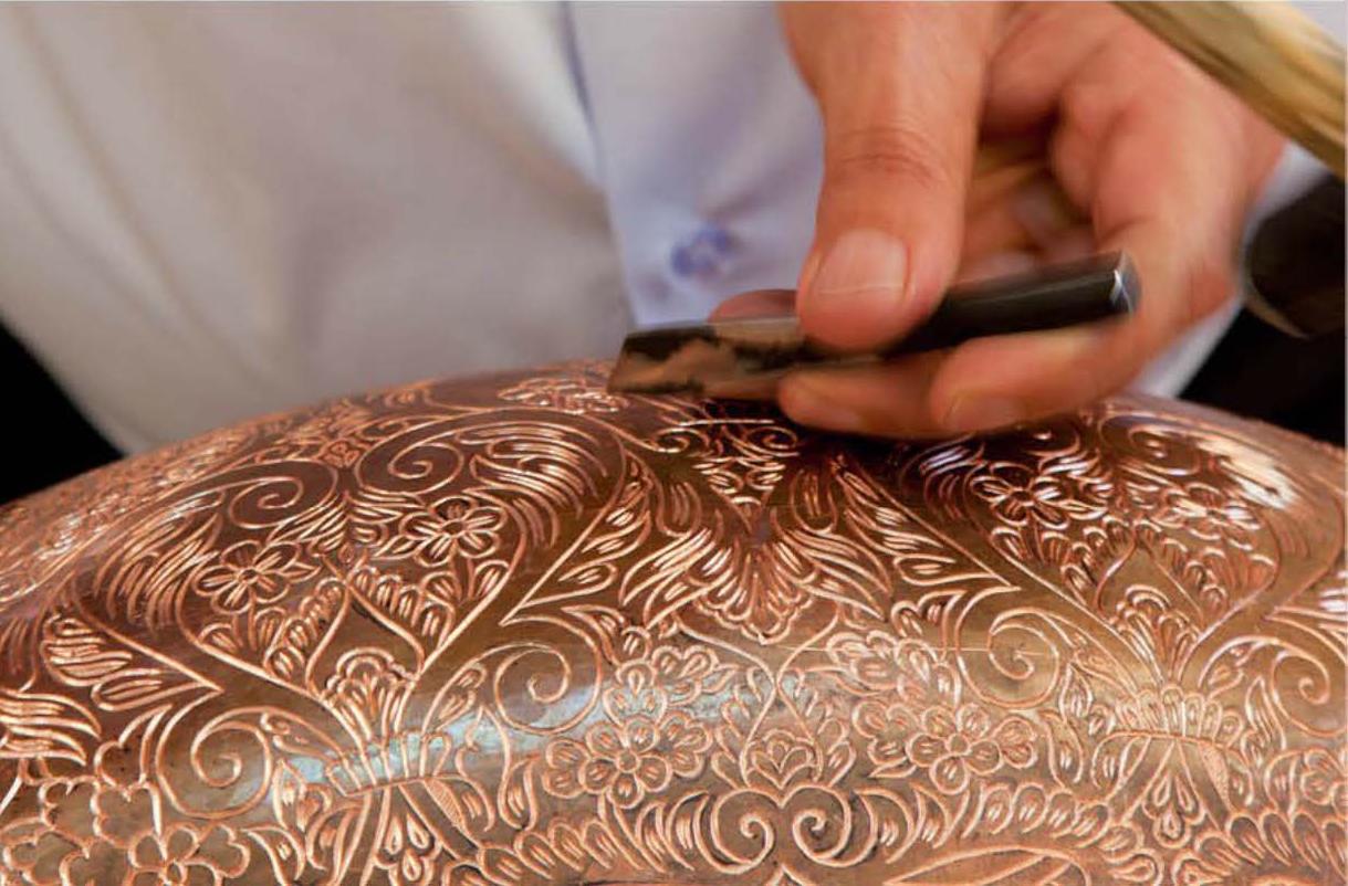 handmade copper artisan