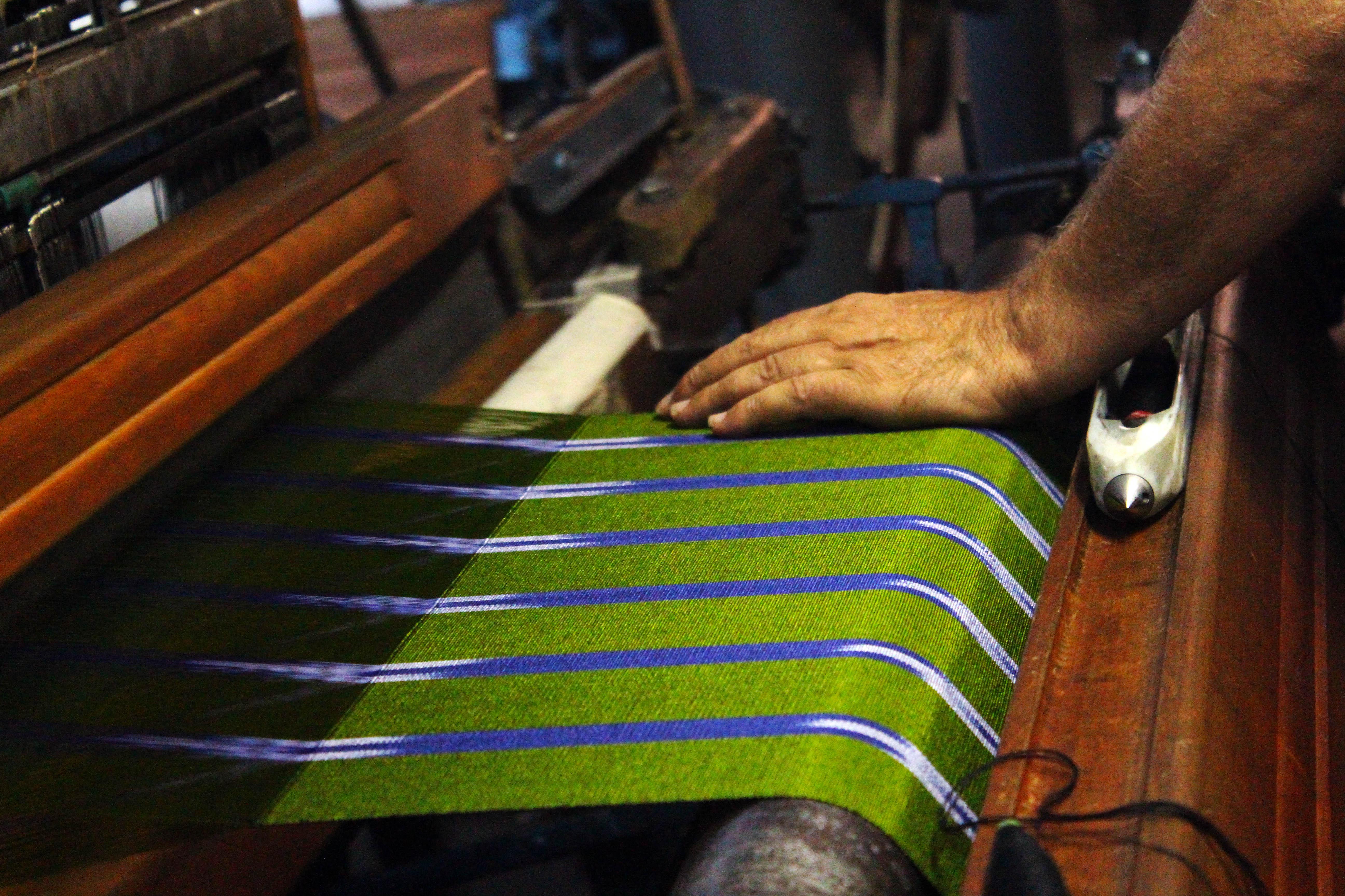 handmade kutnu woven silk scarves
