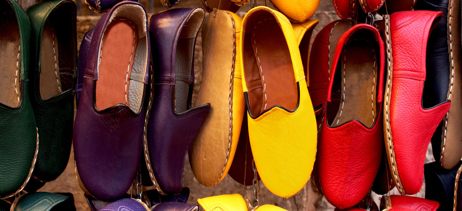handmade leather shoes, yemeni