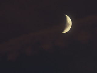 Der schüchterne Mond