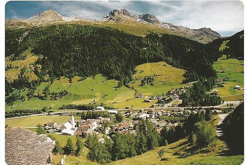 117 Kultur in Graubünden, z.B. Splügen, wo guter Käse zu Hause ist