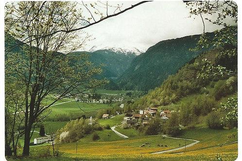 125 Kultur in Graubünden, z.B. Clugin, Bergdorf im Val Schons, Schams