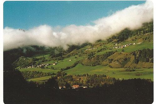 121 Kultur in Graubünden, z.B. Donat, Bergdorf am Schamserberg