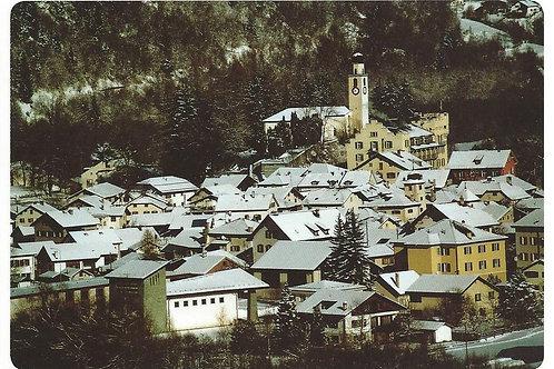 124 Kultur in Graubünden, z.B. Andeer, wo Landwirtschaft, handwerkliche Milch...