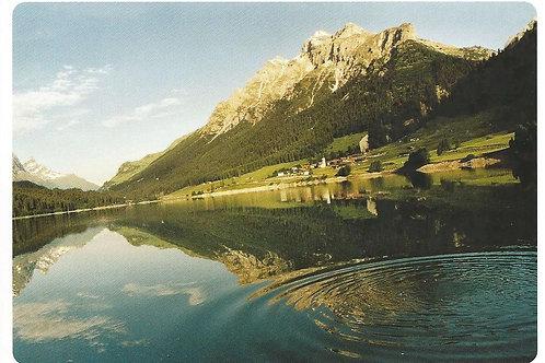 119 Kultur in Graubünden, z.B. Sufers, wo guter Käse zu Hause ist