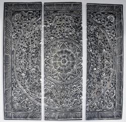 Wanddekoration Aussen