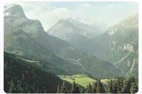 112 Kultur in Graubünden, z.B. Cresta, Maiensässdörfchen im Val Ferrera