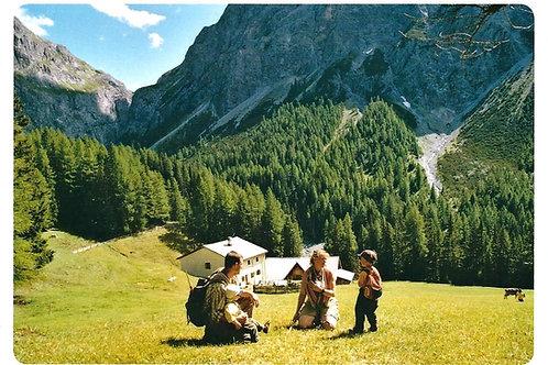 520 Kultur in Graubünden, zum Beispiel Alp Uina Dadaint im Unterengadin