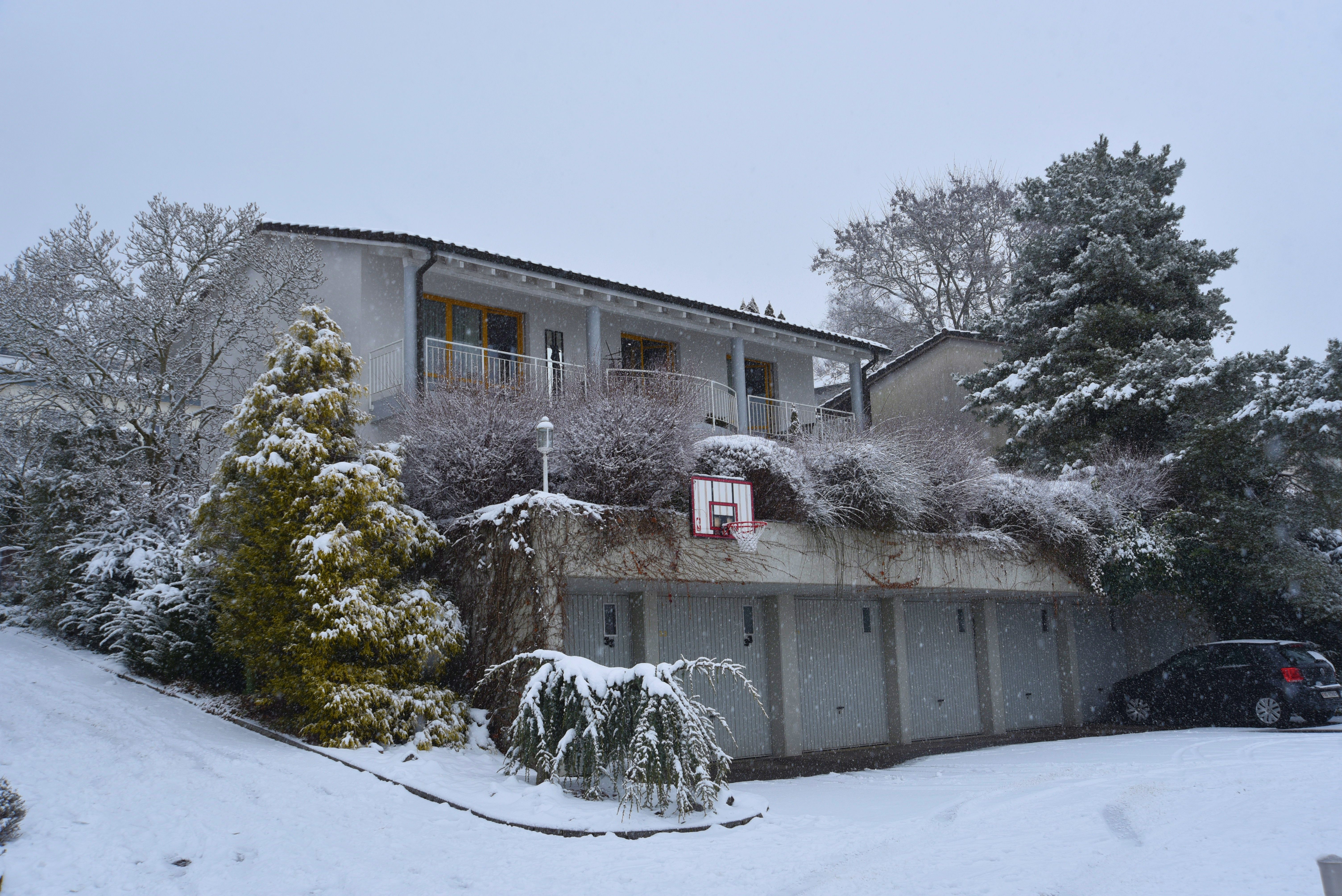 Das Haus im Winter