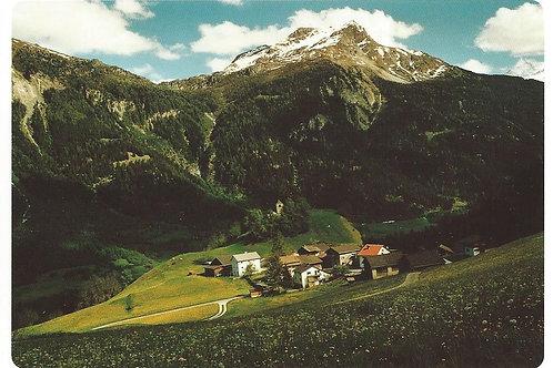 122 Kultur in Graubünden, z.B. Casti, Bergdorf am Schamserberg, klein und fein