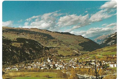 116 Kultur in Graubünden, z.B. Andeer, wo guter Käse zu Hause ist