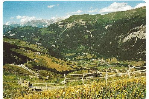 120 Kultur in Graubünden, z.B. Schamserberg mit Lohn, Mathon und Wergenstein