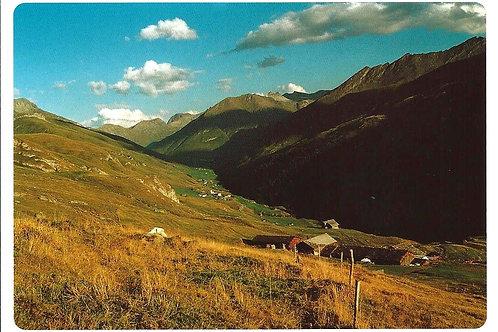 501 Kultur in Graubünden z.B. Alp Platta im Avers