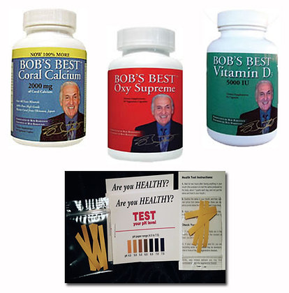 Bob Barefoot Health Pack Save!