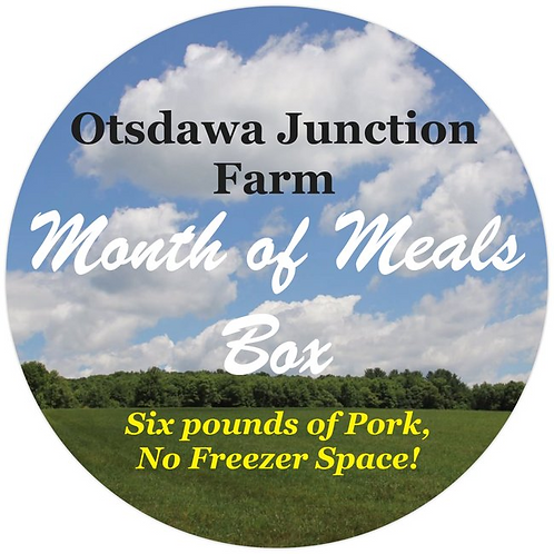 Month of Meals Box - Pork