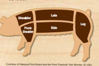 Deposit - Whole Share Pork