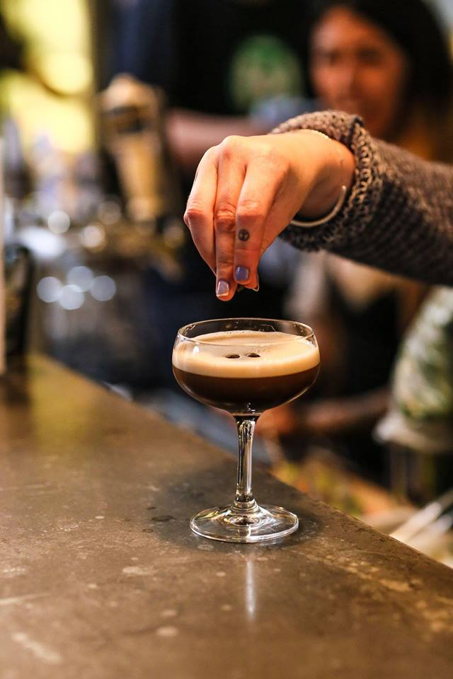 Salted Caramel Expresso Martini