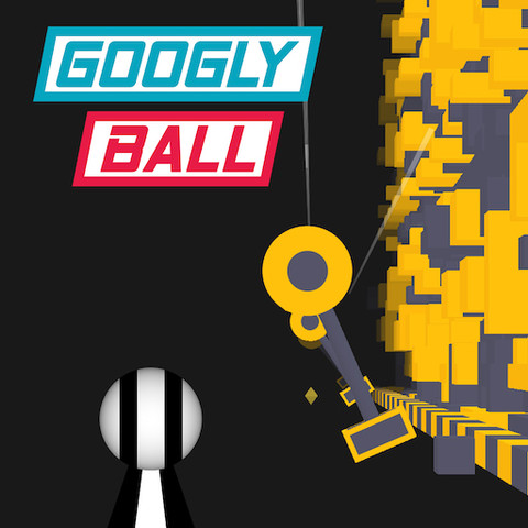Googly Ball: Rolling & Jumping