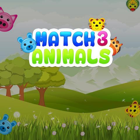 Match 3 Animals