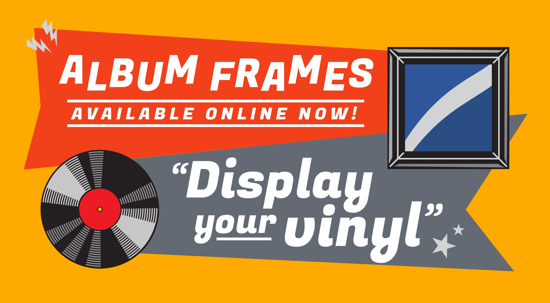 Vinyl Album Frames