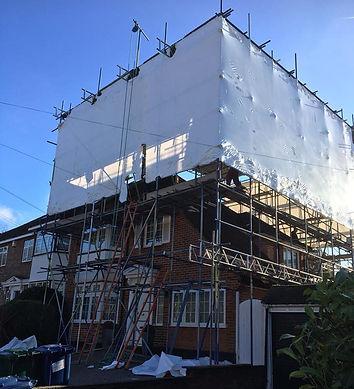 shrink wrap, a10 scaffolding