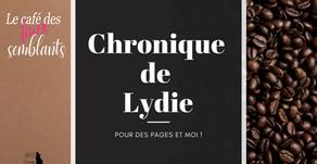 •• Chronique Le café des faux-semblants •• par Lydie Barbosa - Des pages et moi !