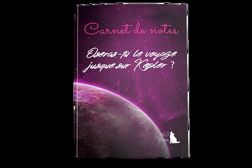 Carnet de note Kepler