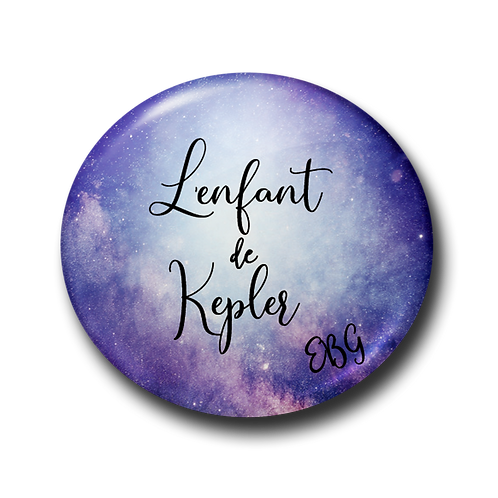 Badge L'enfant de Kepler 2