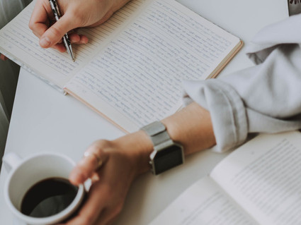 A Day in the Life of a Writer and University Student