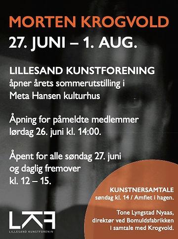 Morten Krogvold 27. Juni – 1. Aug.