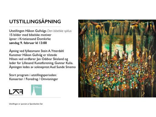 Kunst i Domkirka . Søndag 9. februar kl 13:00