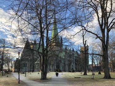 Nidaros Cathedral Or Nidarosdomen Or Nidaros Domkirke