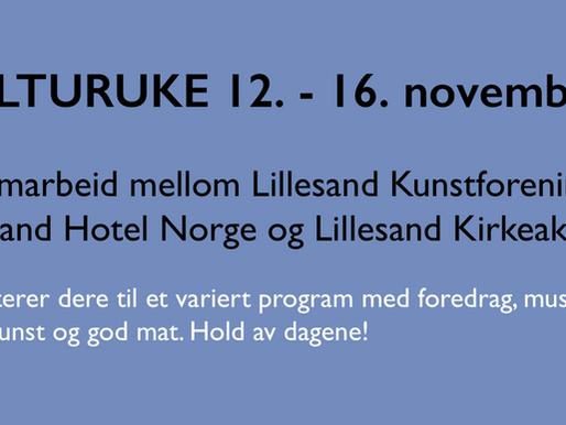 KULTURUKE 12. - 16. november