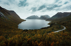 Bergsfjord, Norway