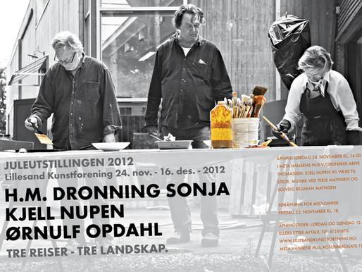 Juleutstillingen 2012: TRE REISER – TRE LANDSKAP